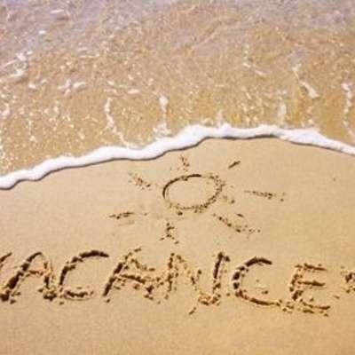 Benjamin et Solenn seront en vacances du 9 août au 15 août inclus
